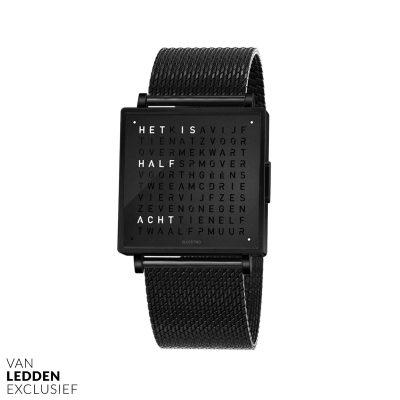 qlocktwo horloge watch W van ledden exclusief